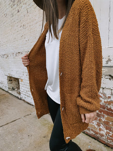 Chunky Sweater Cardigan