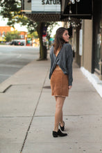 Load image into Gallery viewer, Falling for Autumn Corduroy Mini Skirt