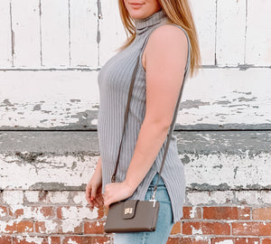 Lasting Impression Sleeveless Turtleneck