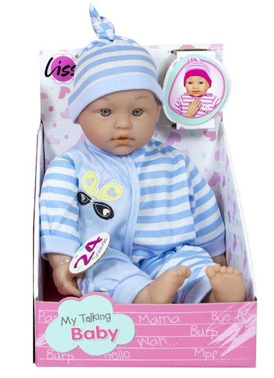 Liss My Talking Baby 38cm
