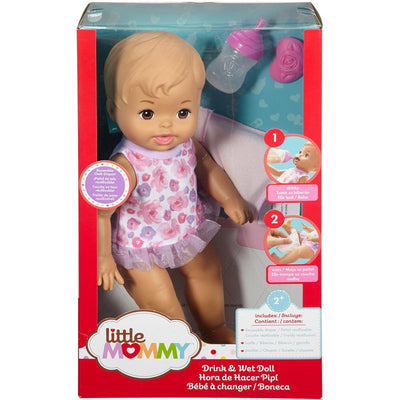 Little Mommy Drink & Wet Doll Asst