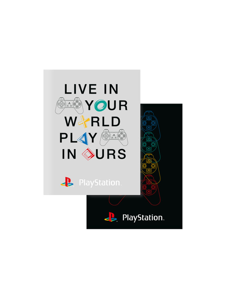 PLAYSTATION EXERCISE BOOK A5 LIJN