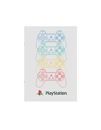 PLAYSTATION EXERCISE BOOK A4 LIJN