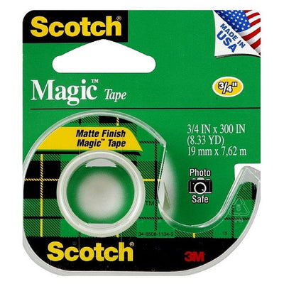 3M-scotch 105 magic transparent tape 3/4X300