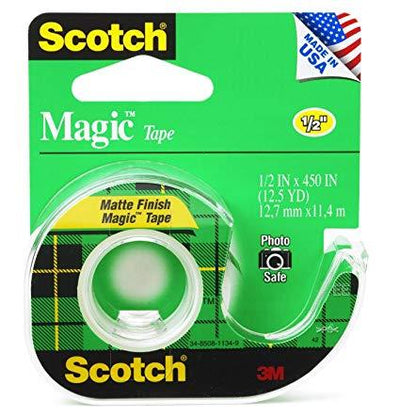 3M-scotch 104 magic tape 1/2X450