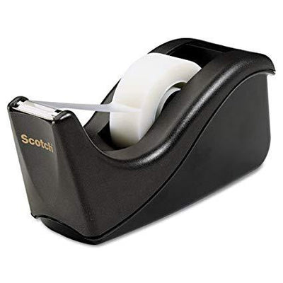 3M-scotch c60-bk scotch desk tape dispenser