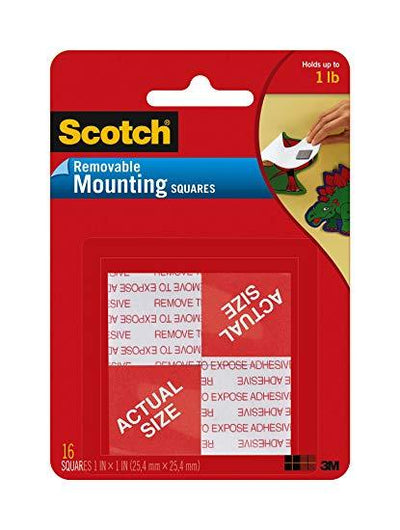 3M-scotch 108 mounting tape 1X1