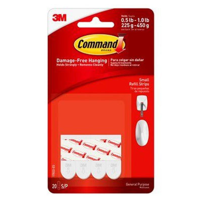 3M-scotch 17022 command small refill strip