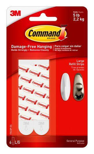 3M-scotch 17023P-ES command large refill strip