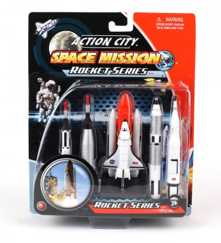SPACE SHUTTLE  & ROCKETS GIFT PACK
