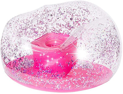 INFLATABLE CHAIR CONFETTI PINK