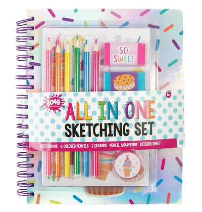 ALL IN ONE SKETCHING SET SWEETS