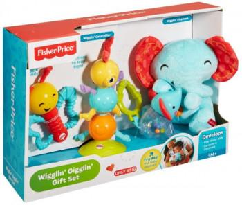 fisher price wigglin' gigglin' gift set