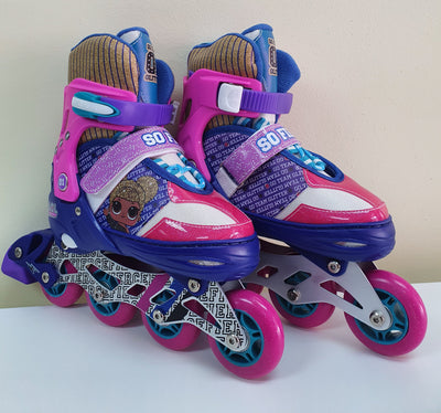 LOL SKATES I/LINE 4 WHEELS ADJUSTABLE