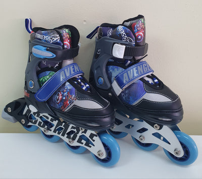 AVENGERS SKATES I/LINE 4 WHEELS ADJUSTABLE