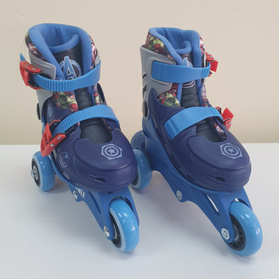 AVENGERS ROLLER SKATE 2IN1 ADJUSTABLE