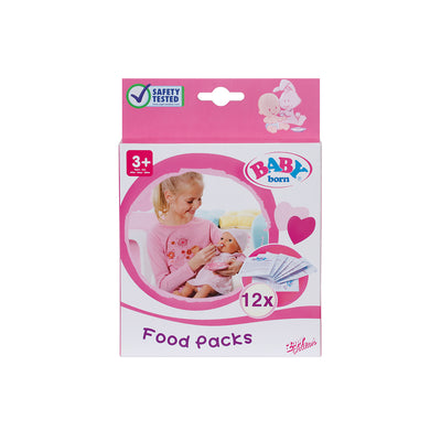 BABY BORN FOOD 12 SACHETS