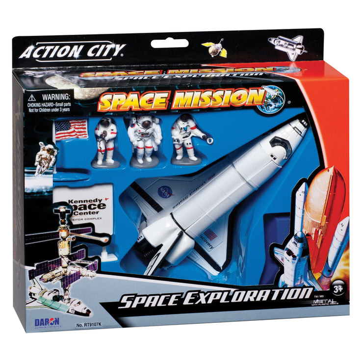 SPACE SHUTTLE 4PC PLAYSET
