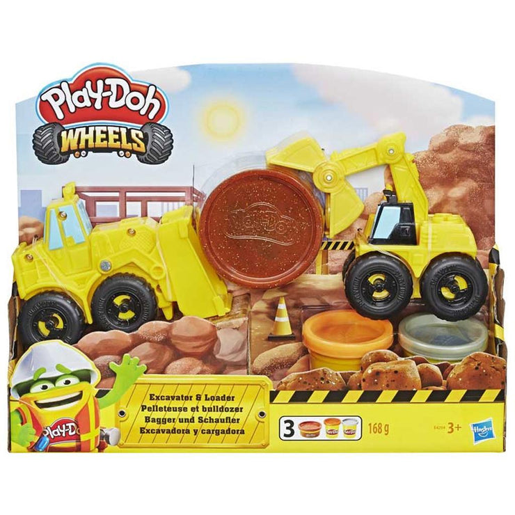 Play-Doh Wheels Excavator & Loader