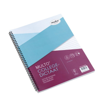 Jalema Notebook, A4, Lines, 80 sheets, 23 rings