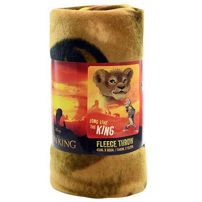 LION KING FUTURE KING FLEECE THROW BLANKET