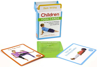 YOGA FOR CHILDREN CARDS :Yoga Cards: 50+ Yoga Poses and Mindfulness Activities for Healthier, More Resilient Kids (Boxed Set) ( Yoga for Children )