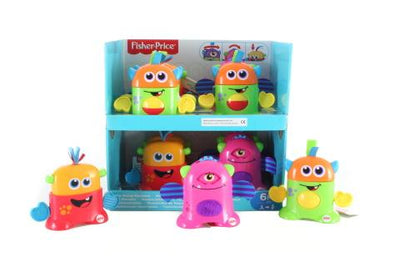 fisher price TOTE-ALONG MONSTERS