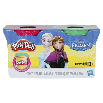 Play-Doh Disney Frozen 2 pack Compound of Glitter