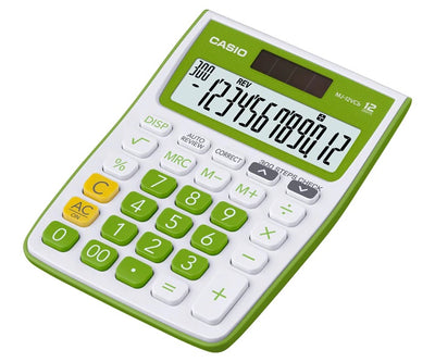 TABLE CALCULATOR MJ-12VCB-GN