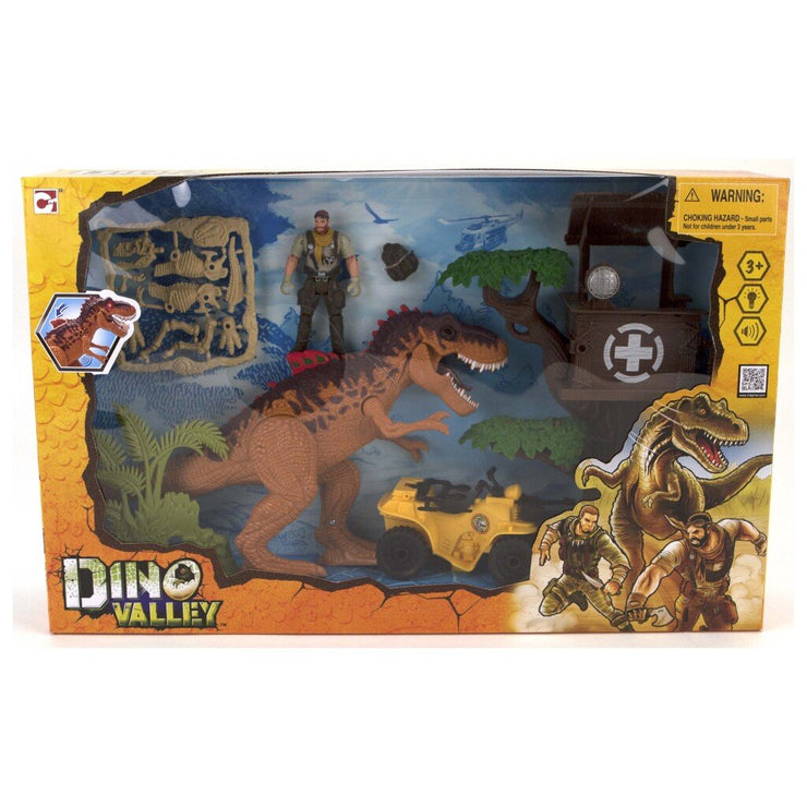 Dino Valley Tower Attack