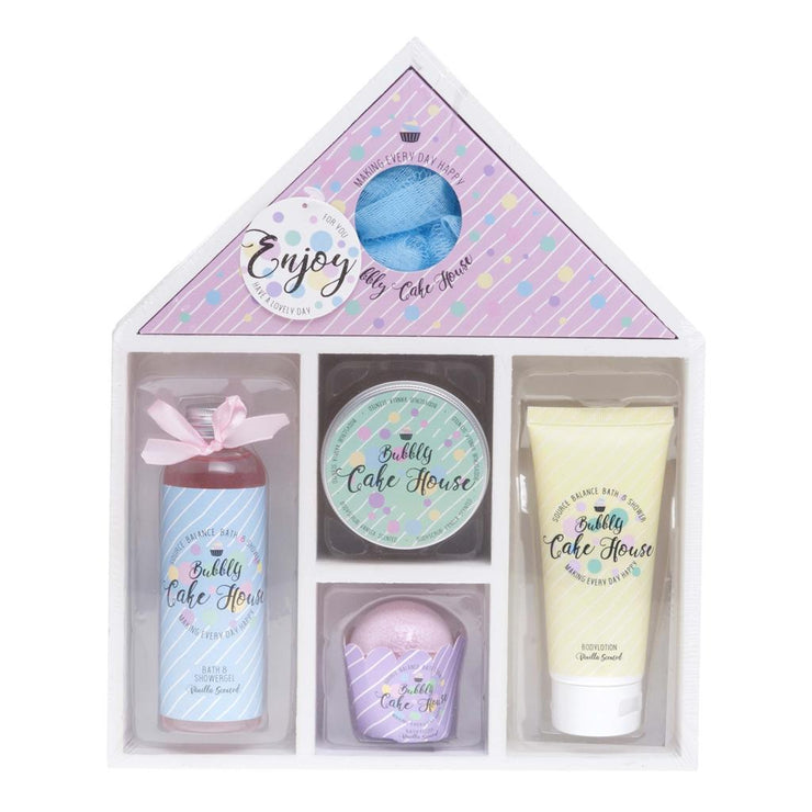 Bath Giftset Bubble Cake House