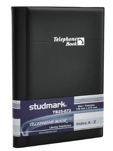 Studmark telephone book w/index