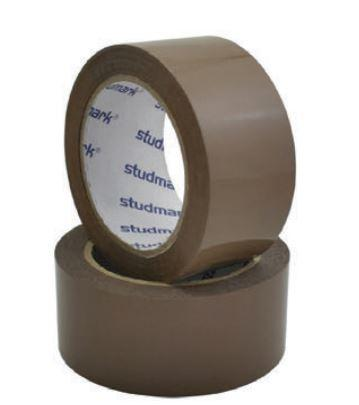 "Studmark packing tape 2X100"" yds"