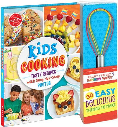 KIDS COOKBOOK: Tasty Recipes with Step-By-Step Photos