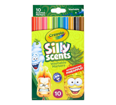 CRAYOLA SILLY SCENTS SLIM 10 UNITS