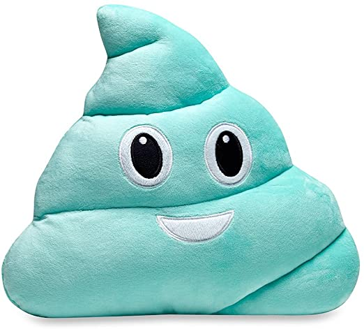 Top Trenz Aqua Poop Pillow Fruit Scented