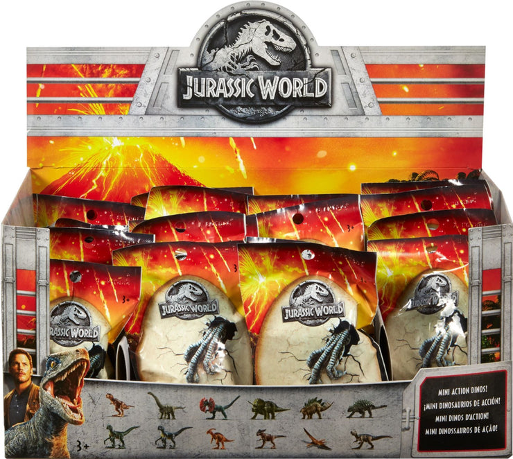 Jurassic World Mini Action Dinos Asst