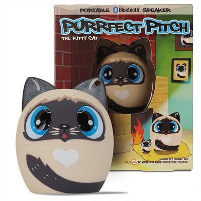 PURRFECT PITCH THE CAT PORTABLE SPEAKERS