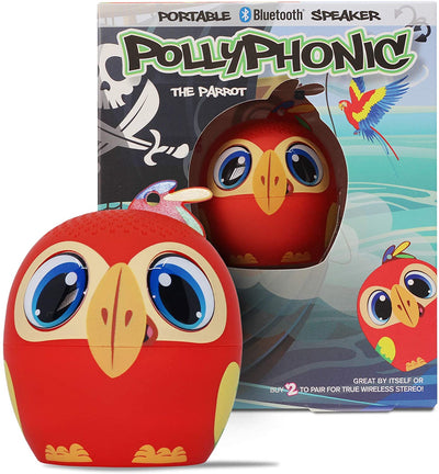 POLLYPHONIC THE PARROT PORTABLE SPEAKER