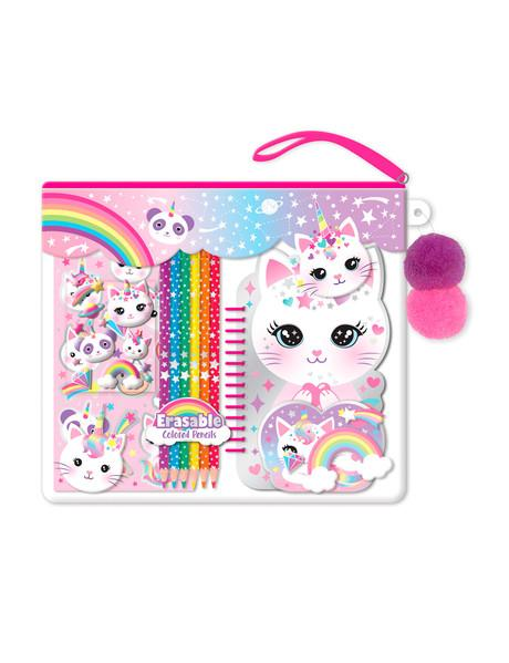 Color-Me Notebook Set Caticorn