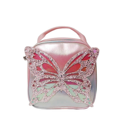 OMG BUTTERFLY SHIMMERY LUNCH BAG
