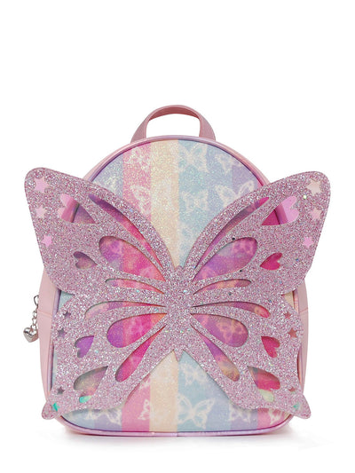 OMG BUTTERFLY STRIPED MINI BACK PACK