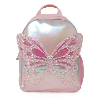 OMG BUTTERFLY SHIMERY BACK PACK LARGE
