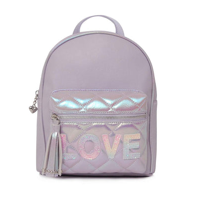 QUILTED LOVE LILAC MINI BACK PACK