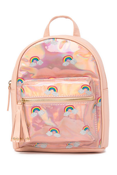 HOLOGRAPHIC RAINBOW MINI BACK PACK