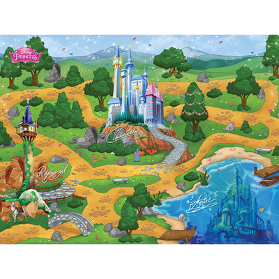 DISNEY PRINCESS JUMBO MEGA MAT
