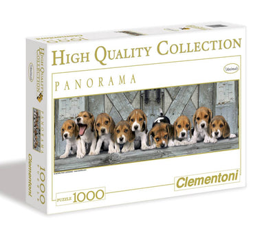 PUZZEL BEAGLES PANORAMA 1000ST