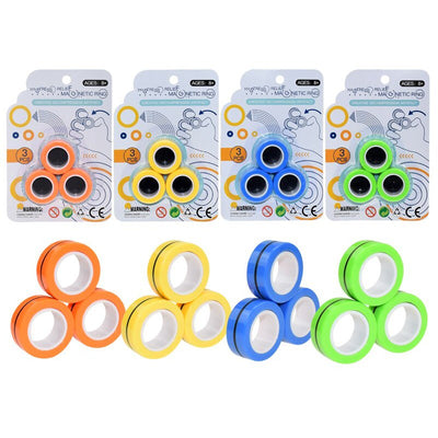 MAGNETIC RINGS ASSORTED 33MM