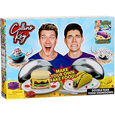 COLLINS KEY FAKE FOOD CHALLENGE 2PK