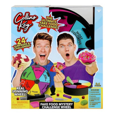 COLLINS KEY FAKE FOOD CHALLENGE WHEEL 2PK